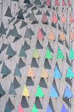 Regenbogen-Dreiecke Stockbild