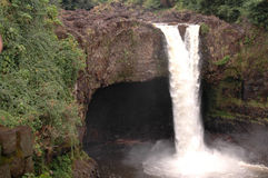 Regenbogen-Fälle, Hawaii Lizenzfreies Stockfoto