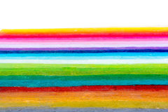 Regenbogen färbt Streifen stockfotografie