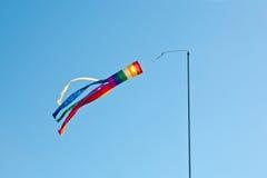 Regenbogen färbt Windspinner Stockfotos