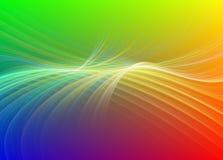 Regenbogen farbiger Fractal Lizenzfreies Stockfoto