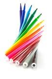 Regenbogen-Farbmarkierungen Lizenzfreie Stockfotos