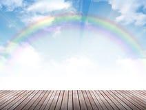 Regenbogen floorr Stockfotografie