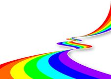 Regenbogen-Fluss Lizenzfreie Stockfotografie