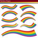 Regenbogen-Formen Lizenzfreies Stockbild