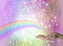 Regenbogen-Heiler Stockfotos