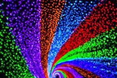 Regenbogen-heller Tunnel stockbilder