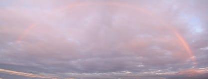 Regenbogen-Himmel Stockfoto