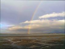 Regenbogen-Hintergrund lizenzfreies stockbild