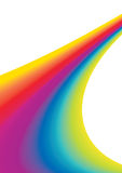 Regenbogen-Hintergrund stock abbildung