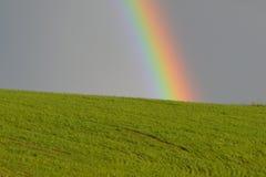 Regenbogen-Land-Landschaft Lizenzfreies Stockbild