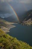 Regenbogen, Llanberis-pas stock afbeelding