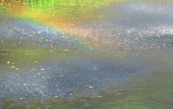 Regenbogen-Regen Lizenzfreies Stockfoto