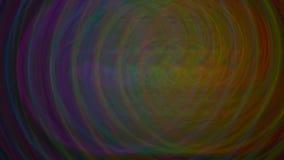 Regenbogen-Reihe Hintergrund-Plakat-Kreise stock abbildung
