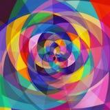 Regenbogen Rose stockfotos