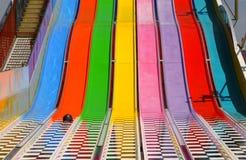 Regenbogen-Seitentrieb Stockbild