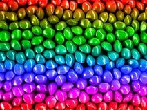 Regenbogen-Startwerte für Zufallsgenerator Stockbilder