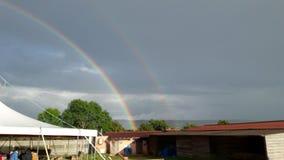 Regenbogen in Taizé Lizenzfreies Stockbild