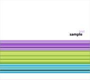 Regenbogen-Tapete stock abbildung