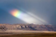 Regenbogen in Tibet Lizenzfreies Stockbild