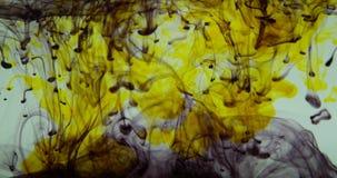 Regenbogen-Tinten im Wasser stock footage