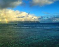 Regenbogen-Versprechen Stockbild