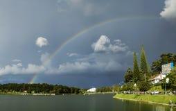 Regenbogen von Dalat Lizenzfreie Stockfotos
