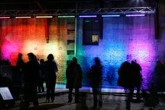Regenbogen-Wand Lizenzfreie Stockfotografie