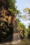 Regenbogen-Wasserfälle Stockfotos
