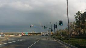 Regenbogen in Westchester Lizenzfreie Stockbilder