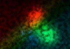 Regenbogen-Wolken lizenzfreie stockbilder