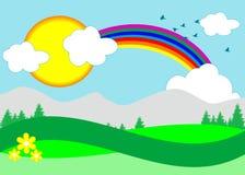Regenbogenabbildung