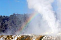 Regenbogendampf Stockbilder