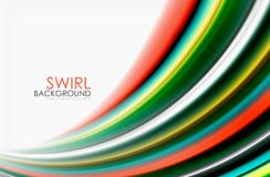 Regenbogenfarbe bewegt, Vektor unscharfer abstrakter Hintergrund wellenartig vektor abbildung