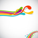 Regenbogenfarben Stockbild