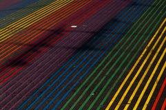 Regenbogengehweg Lizenzfreie Stockbilder