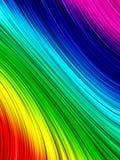 Regenbogenhintergrund stock abbildung