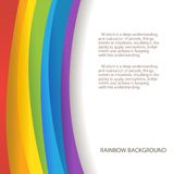 Regenbogenhintergrund lizenzfreie abbildung