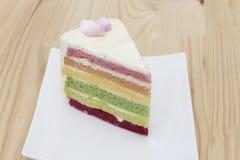 Regenbogenkuchen Lizenzfreies Stockbild