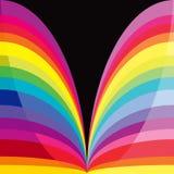 Regenbogenkurven Lizenzfreie Stockbilder