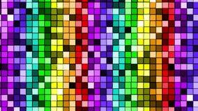 Regenbogenlichter des homosexuellen Stolzes lizenzfreie abbildung