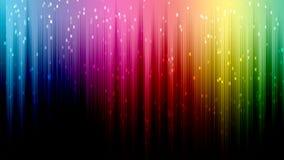 Regenbogenlinie bokeh Zusammenfassungshintergrund Stockfotografie