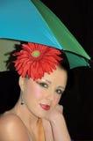 Regenbogenmädchen stockfotos