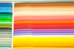 Regenbogenmagiestifte Stockfotos