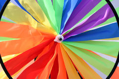Regenbogenmarkierungsfahne Stockbild