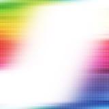 Regenbogenpunkt-Auszugshintergrund Lizenzfreie Stockbilder