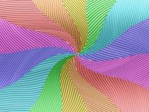 Regenbogensternhintergrund Stockbild