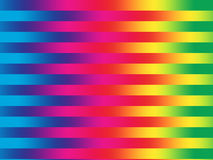 Regenbogenstreifen stock abbildung