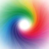 Regenbogenstrudelhintergrund Stockfotografie