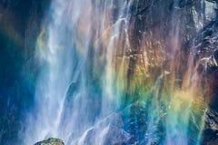 Regenbogenwasserfall Lizenzfreies Stockbild